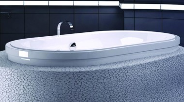 Stylish, this Origami Oval from the Contour Series angle, bathroom sink, bathtub, jacuzzi, plumbing fixture, product design, blue, gray