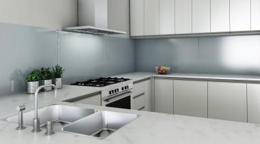 Seratone Escape offer 16 ultra-glossy colours born from countertop, interior design, kitchen, product, product design, room, gray