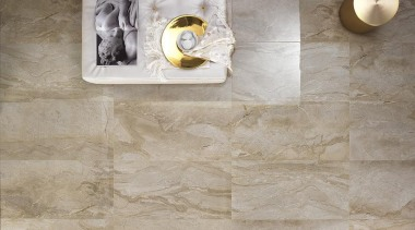 Daino Reale tiles on the bathroom floor. Size ceramic, floor, flooring, tile, wall, gray