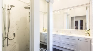 Classic Villa - Classic Villa - bathroom | bathroom, bathroom accessory, bathroom cabinet, floor, home, interior design, room, sink, white