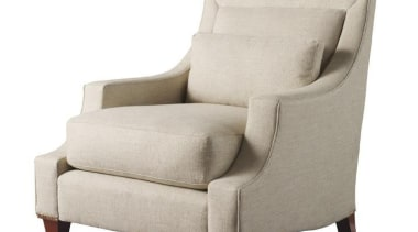 """Upholstery helps set the foundation for how a angle, chair, club chair, couch, furniture, loveseat, product design, white"