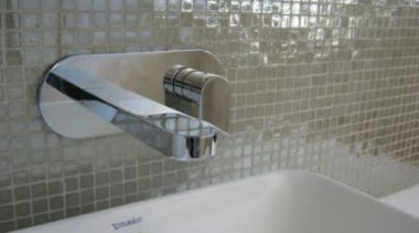 silver lux splashback mosiac - Vetro Mosaics Range bathroom, floor, flooring, product design, tap, tile, gray