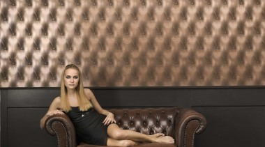 Diamonds are Forever Range - Diamonds are Forever couch, floor, flooring, furniture, girl, photography, sitting, wall, wallpaper, wood, black, brown