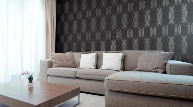 Modern Style Range - Modern Style Range - angle, ceiling, coffee table, couch, curtain, floor, furniture, home, interior design, living room, loveseat, room, sofa bed, table, wall, window, window blind, window covering, window treatment, black, gray