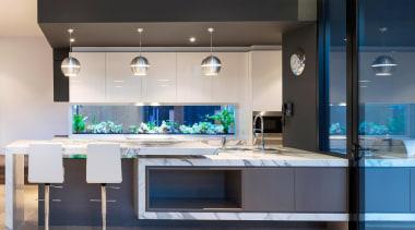 Winner Kitchen of the Year 2013 Victoria - countertop, home appliance, interior design, kitchen, gray, black
