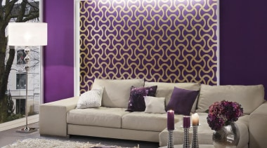 Flock III Range - Flock III Range - couch, furniture, home, interior design, living room, purple, room, sofa bed, wall, wallpaper, window covering, window treatment, gray, purple