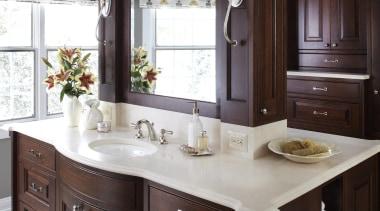 Entire Home Remodel - Master Bathroom - bathroom bathroom, bathroom accessory, bathroom cabinet, cabinetry, countertop, cuisine classique, interior design, kitchen, room, sink, black, white