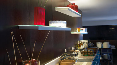 Alpen from La Creu, Spain - Ceiling Lights ceiling, countertop, interior design, kitchen, table, black