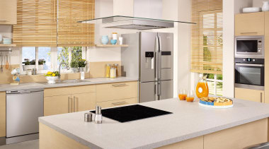 Product Images - Kitchens - cabinetry | countertop cabinetry, countertop, cuisine classique, home appliance, interior design, kitchen, white, orange
