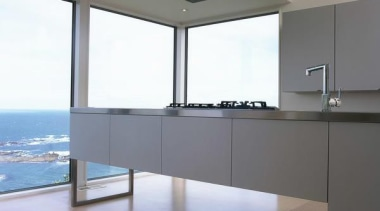 Wellington Kitchen Design of the Year 2006 - architecture, daylighting, floor, glass, interior design, property, window, gray