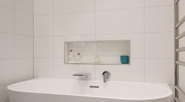 Master Ensuite - Master Ensuite - bathroom | bathroom, bathroom accessory, bathroom sink, bidet, ceramic, floor, interior design, plumbing fixture, product design, room, tap, tile, toilet seat, wall, gray