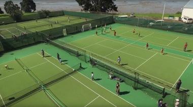 Sport - artificial turf | ball game | artificial turf, ball game, competition event, grass, leisure, net, racquet sport, sport venue, sports, structure, tennis, tennis court, tournament, green
