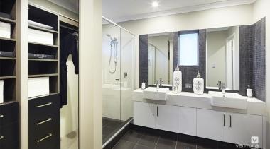 Ensuite design. - The Lexington Two Storey Display bathroom, interior design, room, gray, white