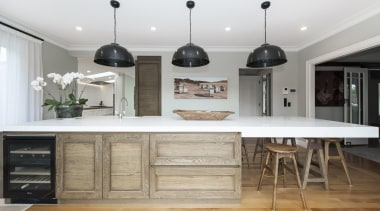 TIDA New Zealand Kitchens – proudly brought to cabinetry, countertop, cuisine classique, floor, flooring, furniture, interior design, kitchen, gray, white