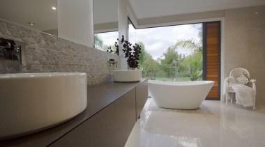 Entrant: Debbie Daly – 2015 NKBA Design Awards architecture, bathroom, estate, floor, home, house, interior design, property, real estate, room, sink, tile, window, gray