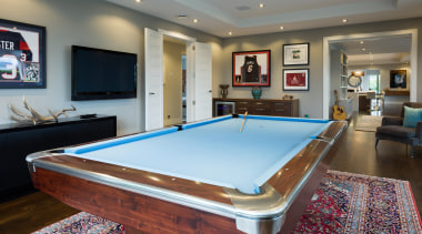 Kohi10 - billiard room | billiard table | billiard room, billiard table, english billiards, indoor games and sports, interior design, pool, real estate, recreation room, room, table, gray