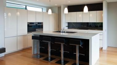 Khandallah Kitchen - Khandallah Kitchen - cabinetry   cabinetry, countertop, cuisine classique, floor, flooring, hardwood, interior design, kitchen, room, wood flooring, gray