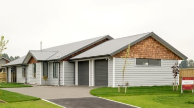 Christchurch showhome - Christchurch showhome - cottage | cottage, elevation, estate, facade, farmhouse, home, house, property, real estate, residential area, roof, siding, suburb, white
