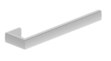 • Manufactured in Australia• Warranty 10 Years• Double angle, hardware accessory, line, product design, white