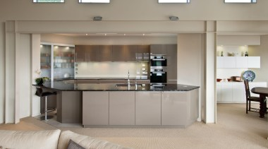 Mt Victoria Kitchen - Mt Victoria Kitchen - countertop, furniture, interior design, kitchen, gray