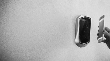 SmartDoor, a collaboration between tech venture 1aim black, black and white, monochrome, monochrome photography, photograph, photography, white, gray