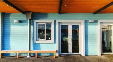 002  DSC2695 - 002 DSC2695 - door door, facade, home, house, real estate, siding, window, white, brown