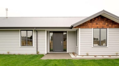 Christchurch showhome - Christchurch showhome - cottage | cottage, elevation, estate, facade, farmhouse, home, house, property, real estate, residential area, siding, window, white