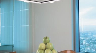 Adagio from Grok, Spain - Pendant Light - architecture, ceiling, glass, interior design, light fixture, lighting, window, gray