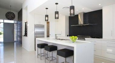 For more information, please visit www.gjgardner.co.nz countertop, cuisine classique, interior design, interior designer, kitchen, real estate, room, white
