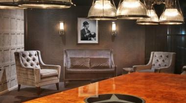 Boardroom Interior by Parkhurst - Boardroom Interior - ceiling, floor, flooring, furniture, interior design, light fixture, lighting, living room, lobby, table, wall, brown