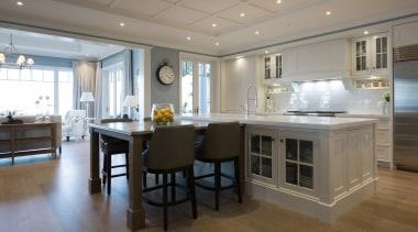 Living area - Living area - cabinetry | cabinetry, countertop, cuisine classique, floor, flooring, interior design, kitchen, real estate, room, gray