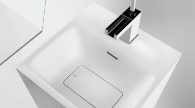 For unlimited freedom in bathroom design, Gessi North angle, bathroom accessory, bathroom sink, bidet, ceramic, plumbing fixture, product, sink, tap, white
