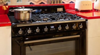 The Smeg Victoria TR90 Freestanding Cooker - available countertop, gas stove, home appliance, kitchen, kitchen appliance, kitchen stove, major appliance, stove, table, brown