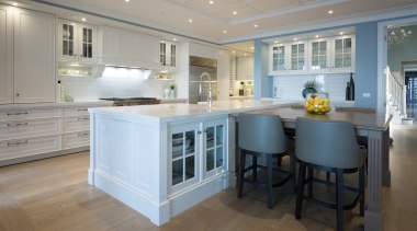 Kitchen - cabinetry | countertop | cuisine classique cabinetry, countertop, cuisine classique, estate, floor, flooring, home, interior design, kitchen, real estate, room, wood flooring, gray