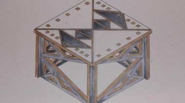 By Ashlee Walters - By Ashlee Walters - angle, product design, triangle, gray