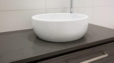 Master Ensuite - Master Ensuite - bathroom | bathroom, bathroom sink, ceramic, floor, plumbing fixture, product design, sink, tap, tile, toilet seat, gray