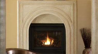 Custom Copper Freestanding Tub with Dark Patina Finish. fireplace, hearth, wood burning stove, brown, orange
