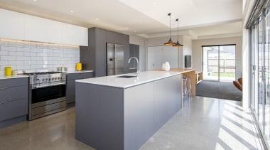 Entrant: Sarah Burrows #1 – 2015 NKBA Design architecture, countertop, floor, interior design, kitchen, real estate, white, gray