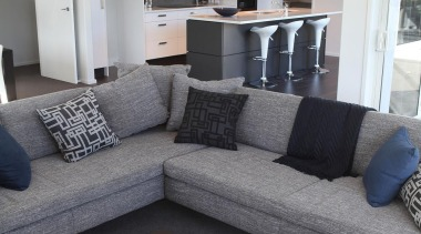 For more information, please visit www.gjgardner.co.nz angle, couch, floor, furniture, home, interior design, living room, property, room, table, gray, black