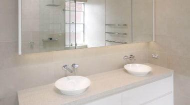 Wonderful Kitchens Nimbus - Nimbus™ - bathroom | bathroom, bathroom accessory, bathroom cabinet, bathroom sink, floor, interior design, product design, room, sink, tap, tile, wall, gray