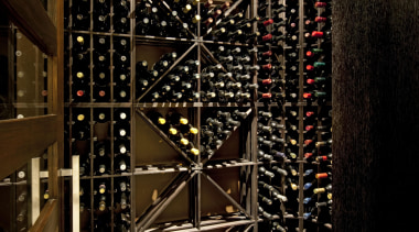 Bale 6 - interior design | wine cellar interior design, wine cellar, winery, brown, black