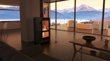 A statement in modern and contemporary homes apartment, interior design, real estate, room, black