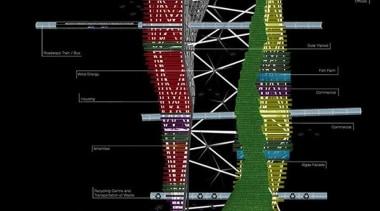Skyscraper - line | structure | black line, structure, black