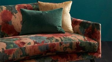 Big, bold and beautiful, ALCHEMY is the perfect chair, couch, cushion, duvet cover, furniture, loveseat, sofa bed, studio couch, wood, black, teal