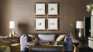 """A good room is an overall harmonious composition couch, furniture, home, interior design, living room, room, table, brown, gray"