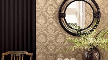 Norwall Room Simply Silks - Simply Silks II decor, interior design, wall, wallpaper, window, black, orange