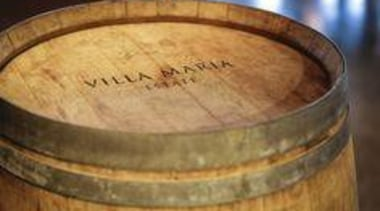 At Villa Maria Estate - At Villa Maria barrel, wood, brown, orange