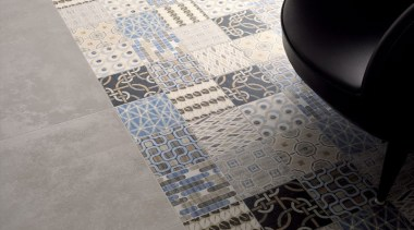 9 different pattern tiles, randomly supplied. - Cementina design, floor, flooring, pattern, tile, gray, black