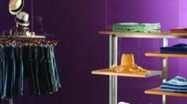 Walls featuring Seratone Princess. - Walls featuring Seratone furniture, interior design, lighting, product, product design, purple, table, purple