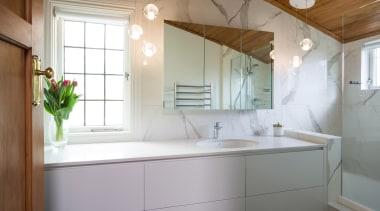 Marble Bathroom - Marble Bathroom - architecture | architecture, bathroom, home, house, interior design, property, real estate, room, sink, window, gray